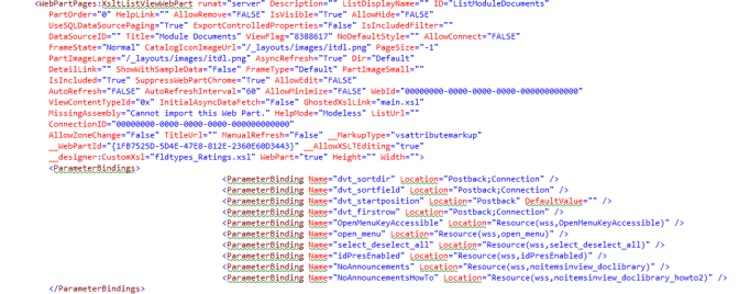 XSLTListViewWebpart in Sharepoint 2010 Uncovered